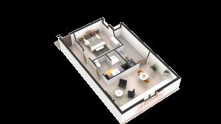 appartement 245 de type T2