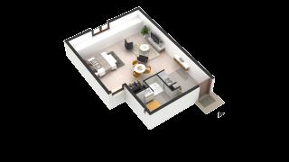 appartement 253 de type T1