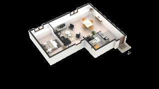 appartement 255 de type T2