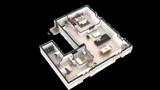 appartement 268 de type T3