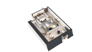 appartement 278 de type T2