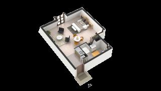 appartement 292 de type T1