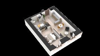 appartement 402 de type T2