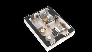 appartement 403 de type T2