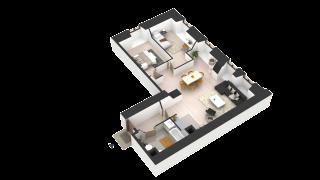 appartement 405 de type T3