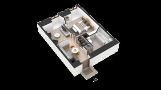 appartement 406 de type T2