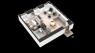 appartement 407 de type T2