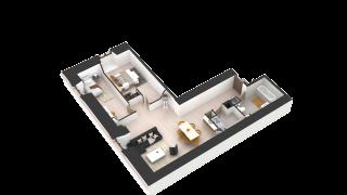 appartement 408 de type T3