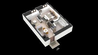 appartement 414 de type T2