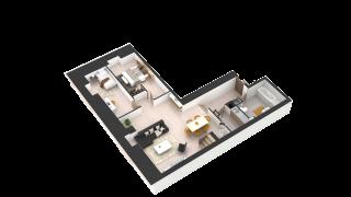appartement 440 de type T3