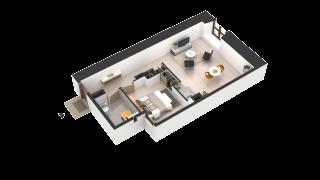 appartement 6021 de type T2